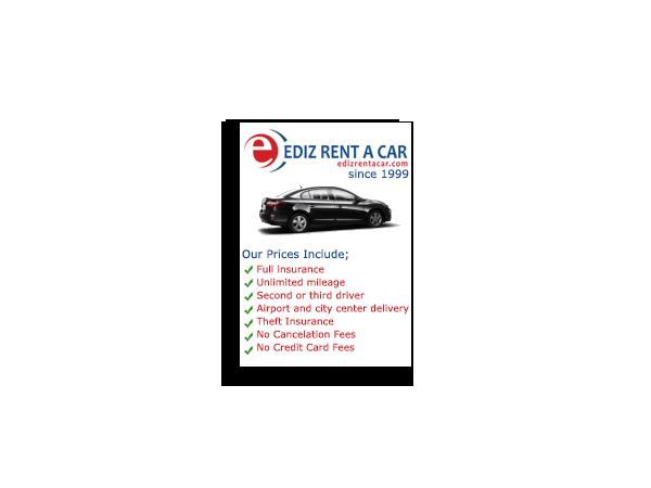 Ediz Rent a Car Banner Advert – May 2012