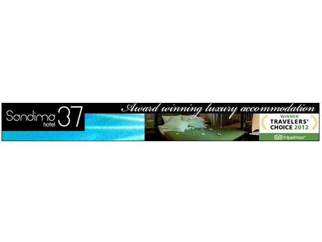Sandima37 Suites Banner Advert – July 2012
