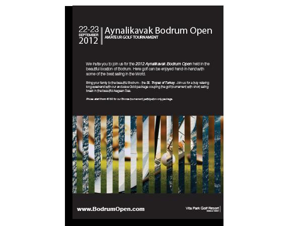 BodrumOpen 1 page Flyer Design – July 2012