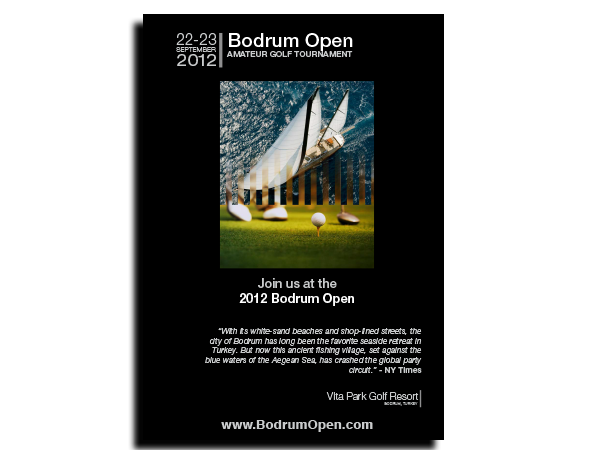 Bodrum Open Invite and Brochure – July 2012