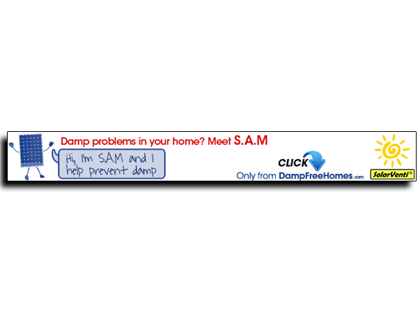 Damp Free Homes Banner Advert – May 2012