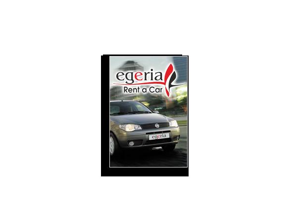 Egeria Rent a Car Banner Advert – April 2012