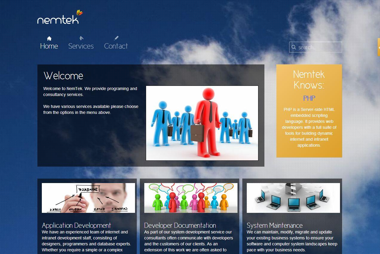 Nemtek Website Design – May 2012