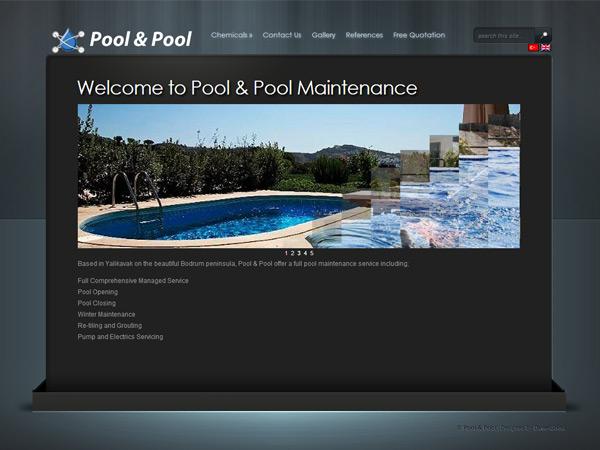 PoolTurkey Website Design – March 2011