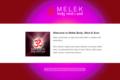 Melek Body, Mind & Soul Website – November 2012