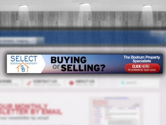 Select Bodrum Property Web Banner Design – February 2013