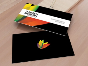 Private Client Business Card Design – February 2013