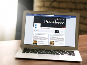 The Pesky Pescetarian Facebook Page – February 2013