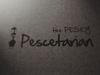 The Pesky Pescetarian Logo Design – February 2013