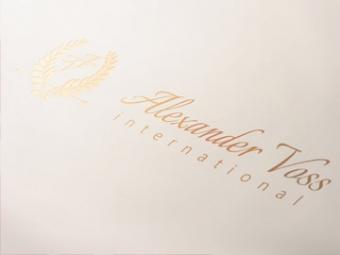 Alexander Voss Logo Design – June 2013