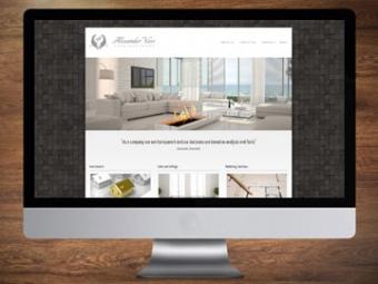 Alexander Voss Website Design – August 2013