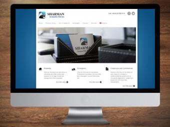 Sharman Law Office website – January 2014